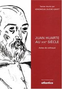 Juan Huarte au XXIe siècle : Actes de colloque