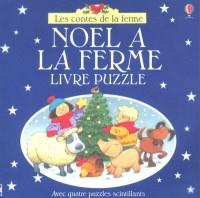 Noël à la ferme (livre puzzle)