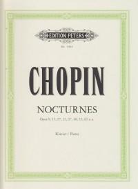 Nocturnes (édition Peters)