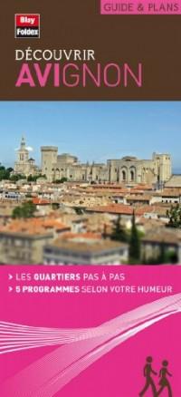 Plan d'Avignon - Collection Découvrir - Plan de ville avec 5 programmes de découverte