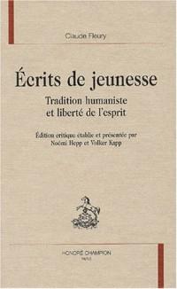 Ecrits de jeunesse : Tradition humaniste et liberté de l'esprit