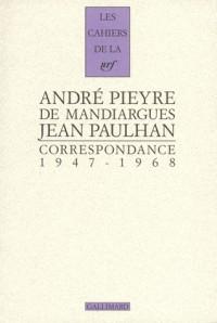 Correspondance 1947-1968