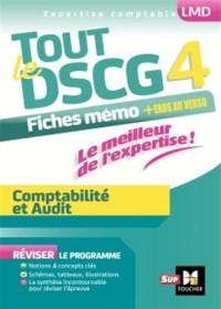 Tout le DSCG 4 - Comptabilité et Audit