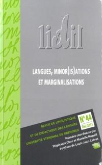Lidil, N 44/2011. Langues, Minor(Is) Ations et Marginalisations