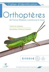 Cahier d'identification des orthoptères de France, Belgique, Luxembourg et Suisse (1CD audio inclus)