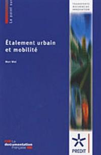 Etalement urbain et mobilité