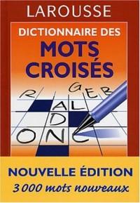 Dictionnaire des mots croisés