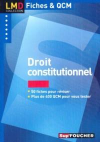 Droit constitutionnel (Ancienne Edition)