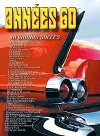 Années 60 (40 Grands Succès) - chant + piano + accords