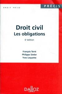 Droit civil. les obligations 6ed 1996