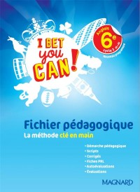 I Bet You Can Fichier Pedagogique 2017