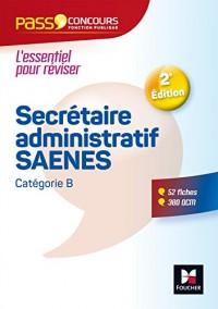 Pass'Concours - Secrétaire administratif-SAENES - Catégorie B - Entrainement et révision