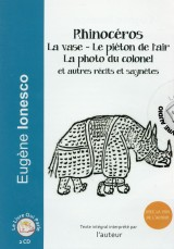 Rhinocéros, la Photo du Colonel le Piéton de l'Air (CD audio) [Livre audio]