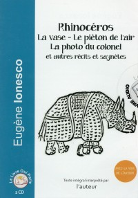 Rhinocéros, la Photo du Colonel le Piéton de l'Air (CD audio)