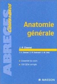 Anatomie générale sixième édition