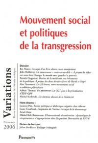 Mouvement social et espace public