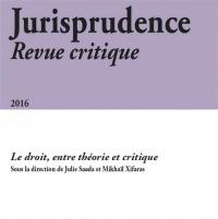 Jurisprudence. Revue Critique 2016
