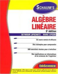 Algèbre linéaire : Rappels de cours et exercices corrigés