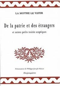 De la patrie et des étrangers