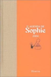 L'agenda de Sophie : Edition 2004