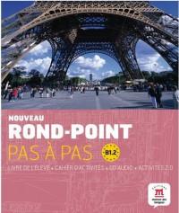 Nouveau Rond-Point Pas a Pas B1.2 Livre Eleve