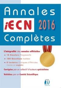 Annales iECN complètes