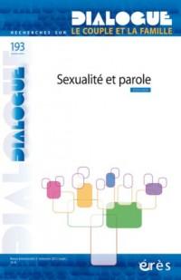 Dialogue 193 - Sexualite et Parole