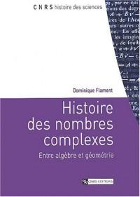 Histoire des nombres complexes : Entre algèbre et géométrie