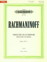EDITION PETERS RACHMANINOFF S. - PRELUDE IN C SHARP MINOR OP. 3 N° 2 - PIANO