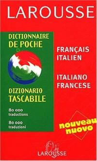 Dictionnaire de poche : Italien/français, français/italien
