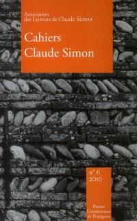 Cahiers Claude Simon N 6