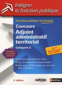 Concours Adjoint administratif territorial : Catégorie C