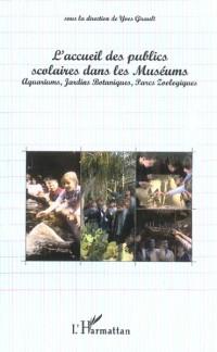 L'accueil des publics scolaires dans les museums