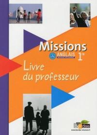 Missions Première - Livre Professeur 2011