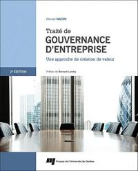 Traité de gouvernance d'entreprise : Une approche de création de valeur