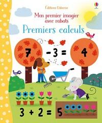 Premiers calculs - Mon premier imagier avec rabats