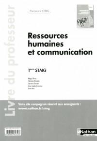 Ressources Humaines et Communication  Term Stmg  (Parcours Stmg)  Professeur  -  2013