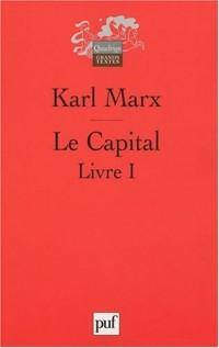 Le Capital. Livre I