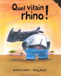 Quel vilain rhino !