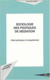 Sociologie des pratiques de médiation. :  Entre principes et compétences