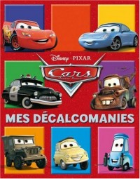 Mes décalcomanies : Cars