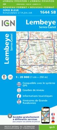 1644SB LEMBEYE SERRES-CASTET