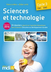 Sciences et technologie CM