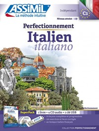 Perfectionnement Italien superpack usb (livre+ 4Cd audio+1 clé usb)