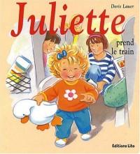 Juliette prend le train