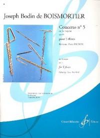 Concerto N 5 en la Majeur Opus 15