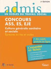 Concours assistant service Social Educateur SPE et jeunes enfants ASS ES JEJ