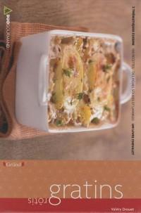 Rôtis - gratins Deux thématiques cuisine : Un livre chevalet