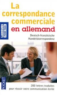 La correspondance commerciale en allemand