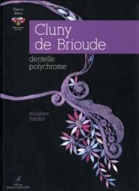 Cluny de Brioude : Dentelle polychrome